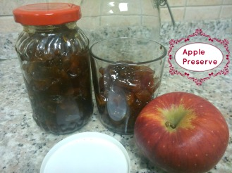 Apple Preserve Recipe
